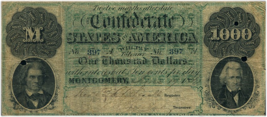 Confederate Note