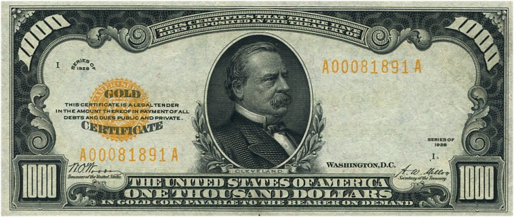 Gold Certificates and Bank Notes For Sale - donckelly com